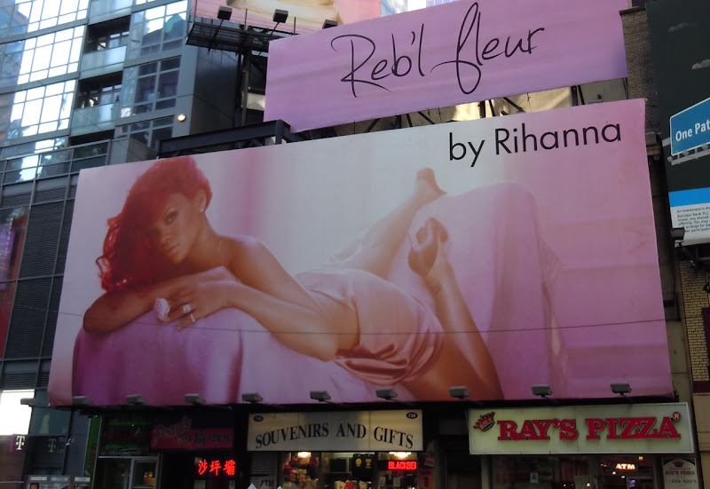Rihanna NYC billboard