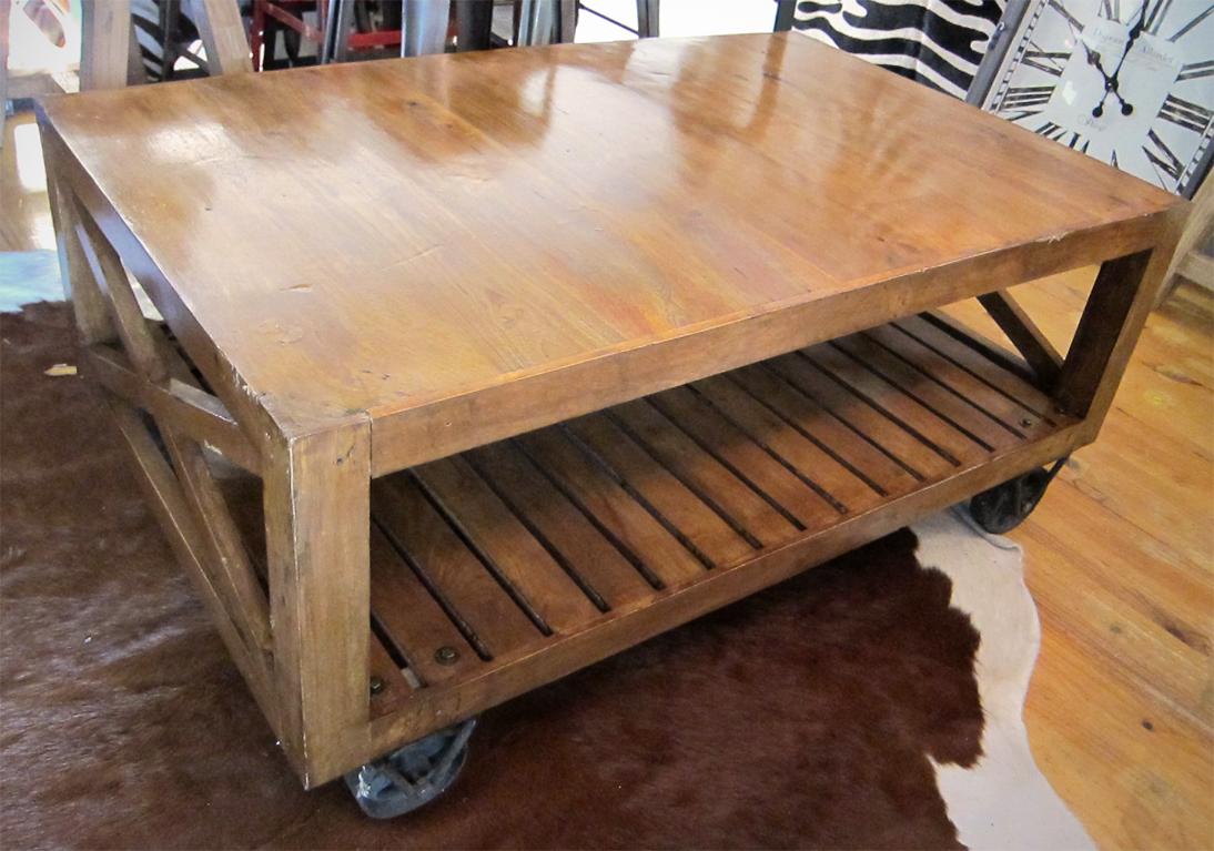 Koko Classics Recycled Teak Coffee Table