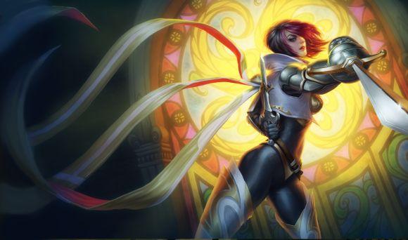 Katie de Souza ilustrações fantasia games mulheres Flora, a grande duelista
