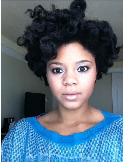 how to use flexi rods on short natural hair