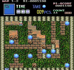 Boulder Dash arcade videojuego descargar gratis