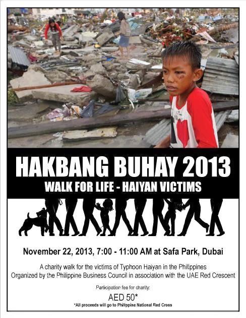 Join Hakbang Buhay - Walk of Life for Typhoon Victims