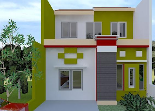 Dekorasi rumah eksterior