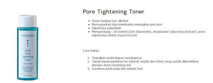 Pore Tightening Toner - $8