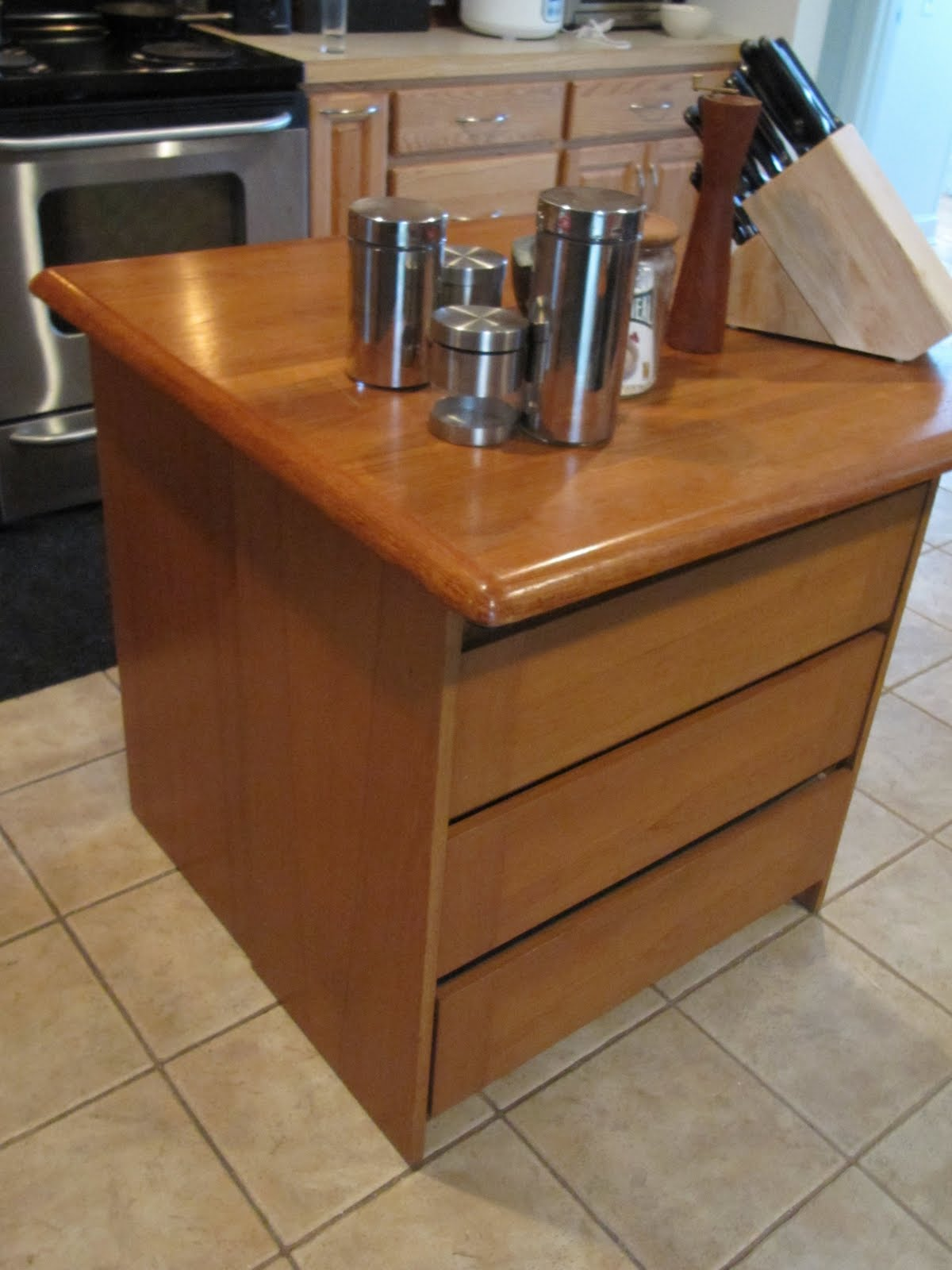 Adding A Kitchen Island