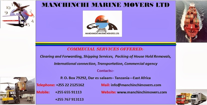 MANCHINCHI MARINE MOVERS LTD
