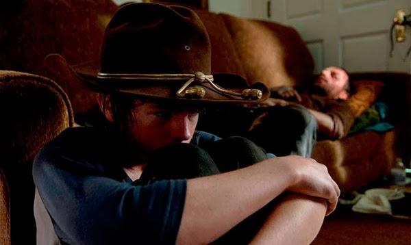 Carl de 'The Walking Dead': Nueva tráiler del regreso de la cuarta temporada