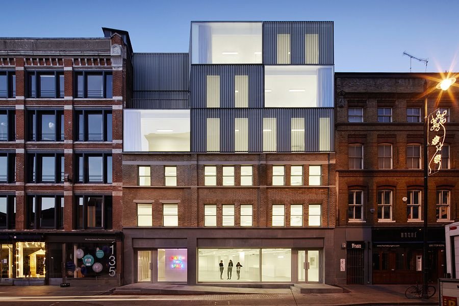 14 duggan morris architects a f a s i a for Household design 135 curtain road