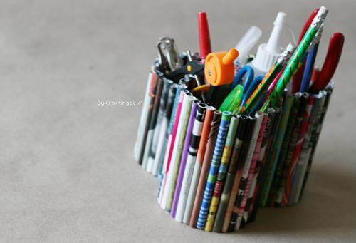 Manualidades de lapiceros imagui - Lapiceros reciclados manualidades ...