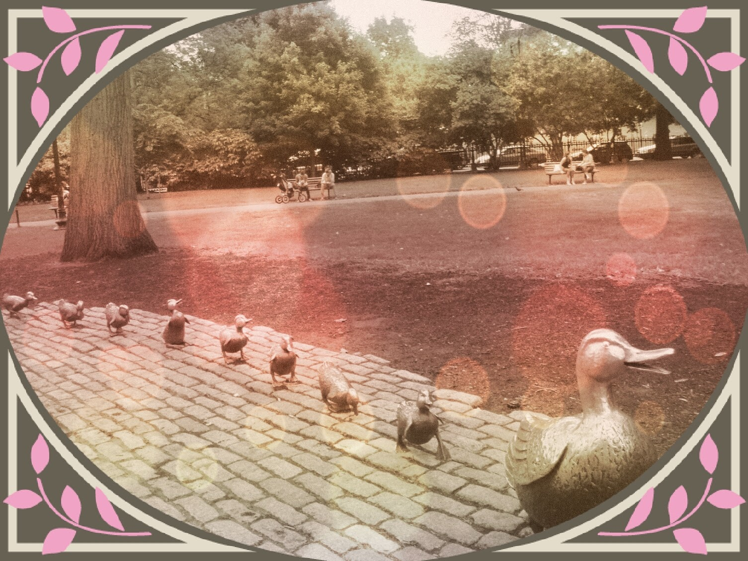 Boston Public Garden - Make Way for the Ducklings