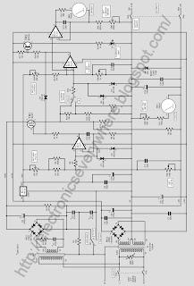 Versatile Bench Power Supply Schematic