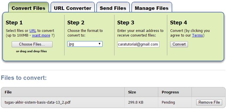 Merubah File PDF ke Ms Word dengan Mudah dan Cepat