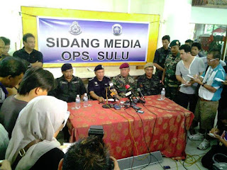 Sidang Media : Tiada Anggota Keselamatan Terkorban, Keputusan Awal Serangan Ofensif di Lahad Datu