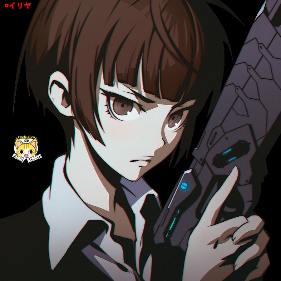 Render Psycho-Pass + Akane Tsunemori