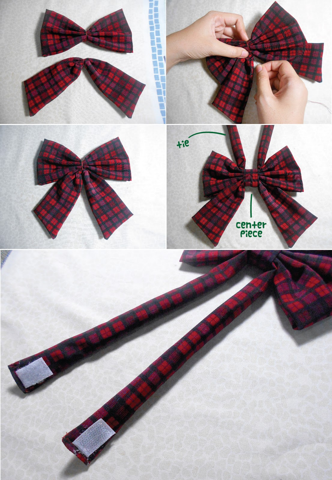 Anime diy japanese school girl bow tie anime school girl bow tie diy putting it altogether ccuart Gallery