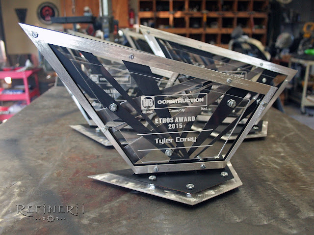 custom metal trophies