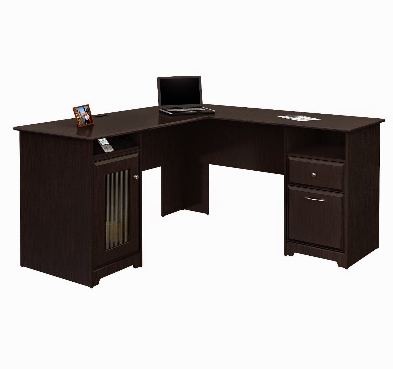 Corner computer desks corner computer desks for small spaces - Corner desks canada ...