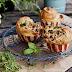 Maślano-ziołowe, drożdżowe muffiny z orzechami