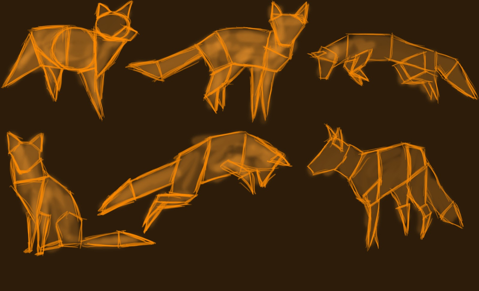 Max\'s Blog: Shapes of fox anatomy