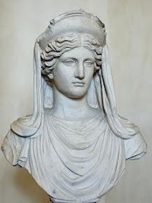 Ceres o Deméter, diosa de la agricultura, las cosechas y la fertilidad