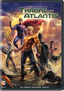 DC Comics Liga de Justicia Trono Atlantis Pelicula DVDRip