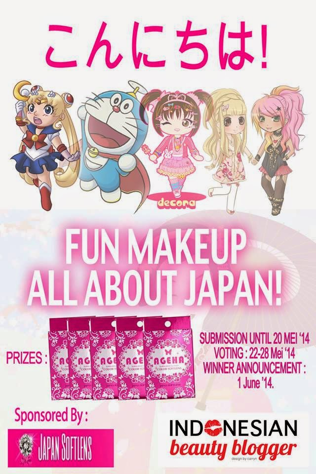 Fun Makeup All about Japan ! (IBB MUC MEI 2014 ft Japan