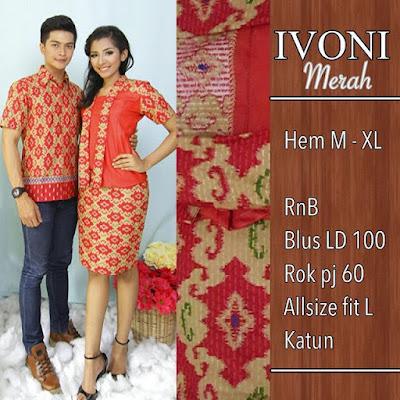 Baju-Batik-Pasangan-Ivoni-Orange-SP8089