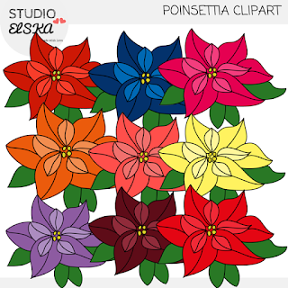 https://www.teacherspayteachers.com/Product/Poinsettia-Clipart-Christmas-clipart-by-Studio-ELSKA-2264264