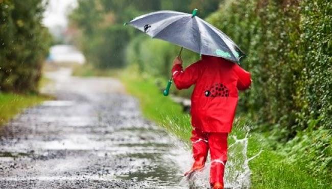 W czasie deszczu dzieci sie nudzą
