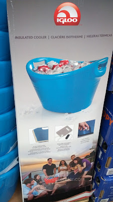 Igloo Insulated Party Bucket Cooler to chill your drinks and beers