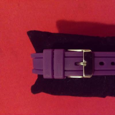 Sekonda Party Watch purple stainles steel clasp