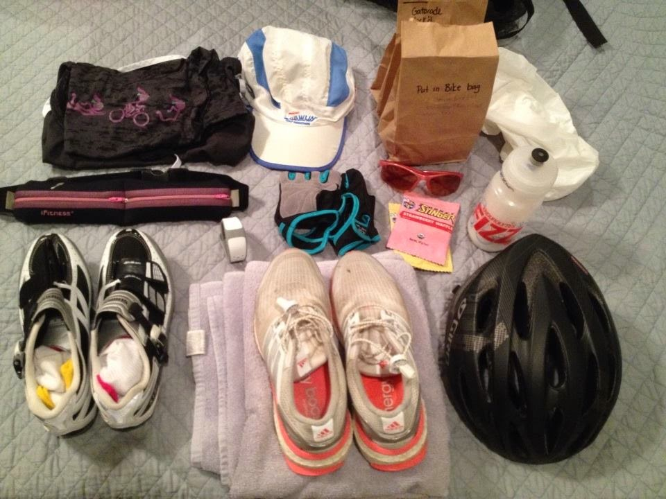 Half Ironman packing