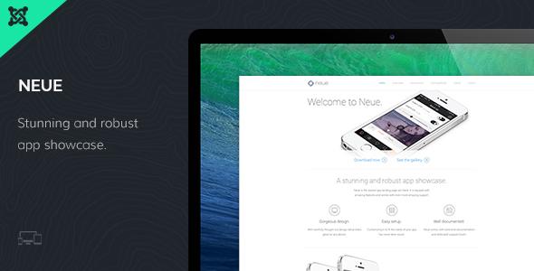 Premium Joomla Template 2014