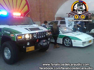 Hummer Ferrari Policia Colombiana Autos Tuning
