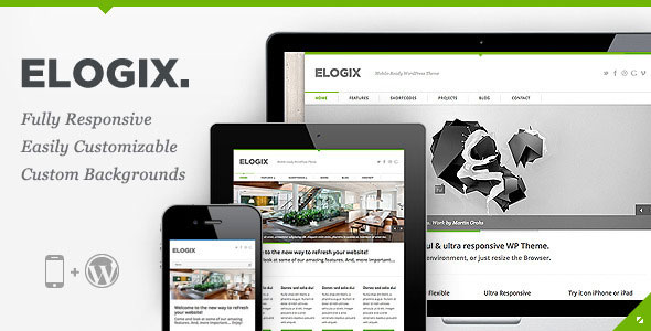 Image for ELOGIX – Responsive Business Theme by ThemeForest