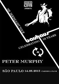 PETER MURPHY -  BAUHAUS CELEBRATING 35 YEARS