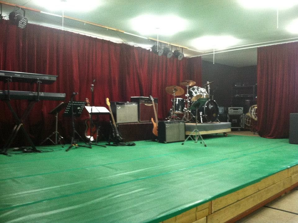 Stage at the Han Ma Um Independent Living Center