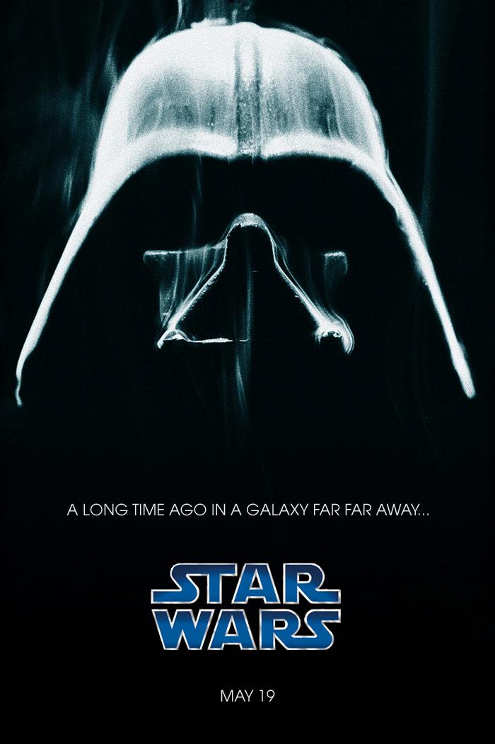Original Star Wars Logo With The Star Wars Logo