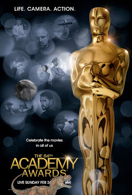 The Oscars 2012, Poster