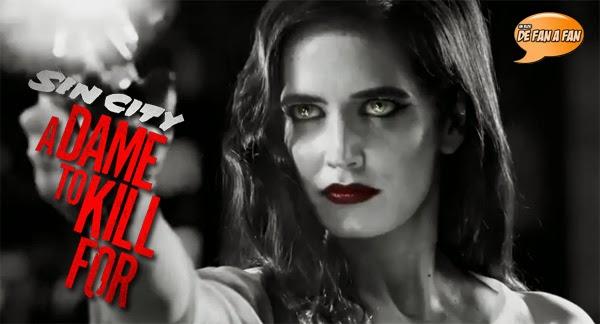 """Eva Green en """"Sin City 2: Una dama por la que matar"""""""