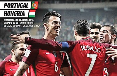 25 de março, 19h45: Lisboa (Estádio da Luz)