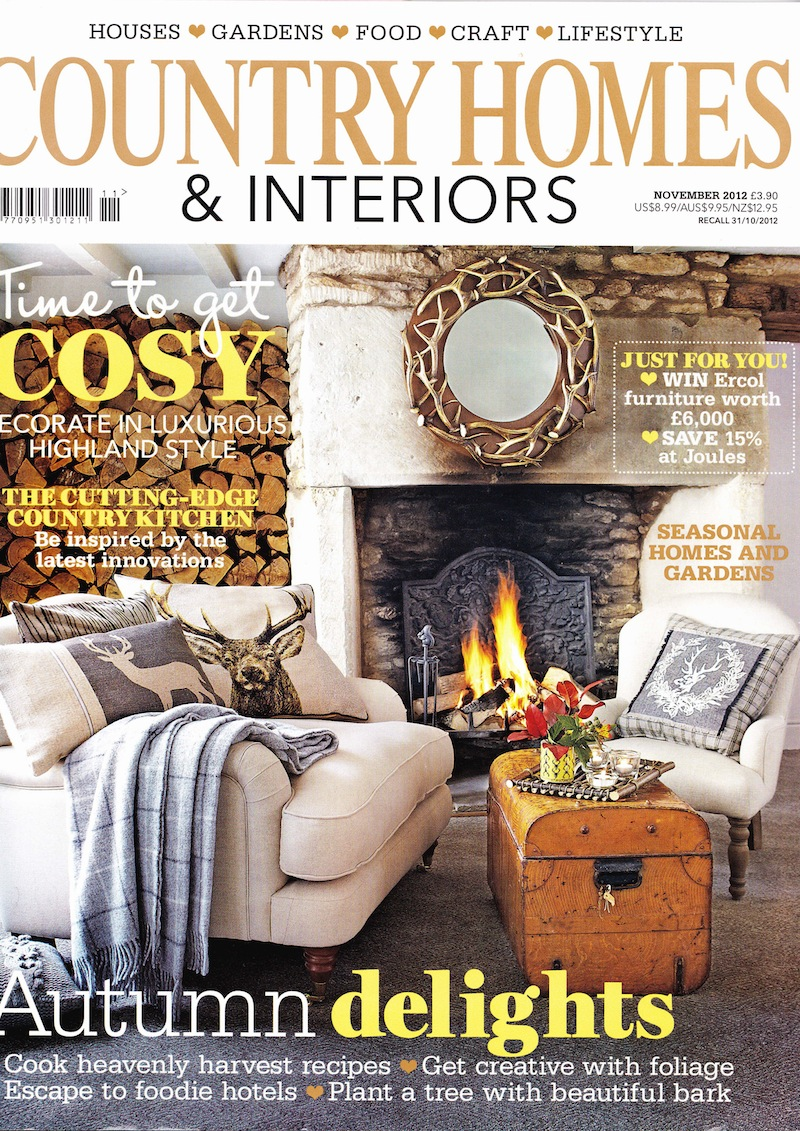 Country House Interiors In the press, country homes
