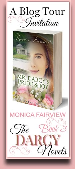 E-book Giveaway of one Copy of one of Monica Fairview's Darcy Novels