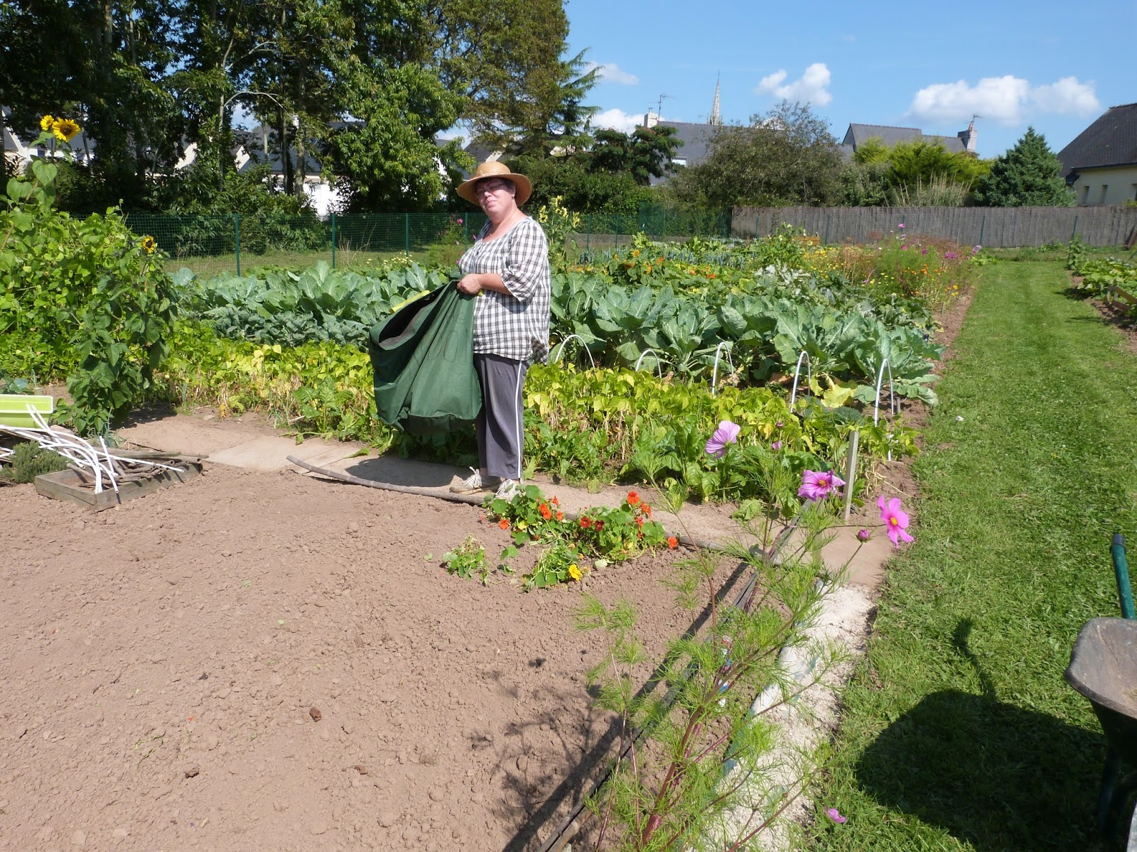 Les jardins familiaux de feunteun don 2015 09 06 for Jardin familiaux