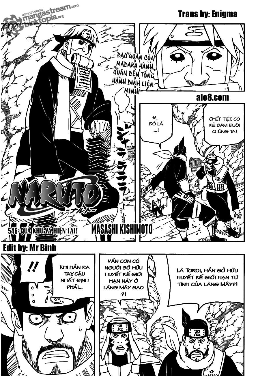 Naruto chap 546 Trang 1 - Mangak.info