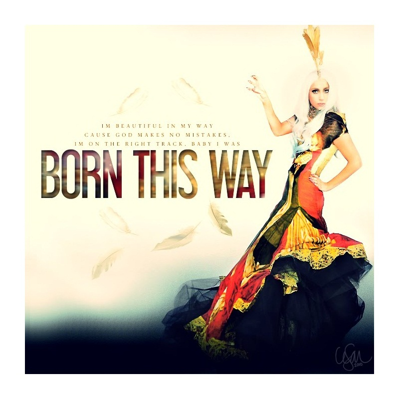 lady gaga born this way booklet pictures. Lady Gaga Born This Way album