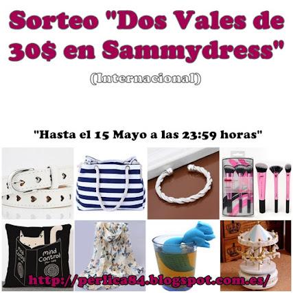 "Sorteo Internacional ""Sammydress"""
