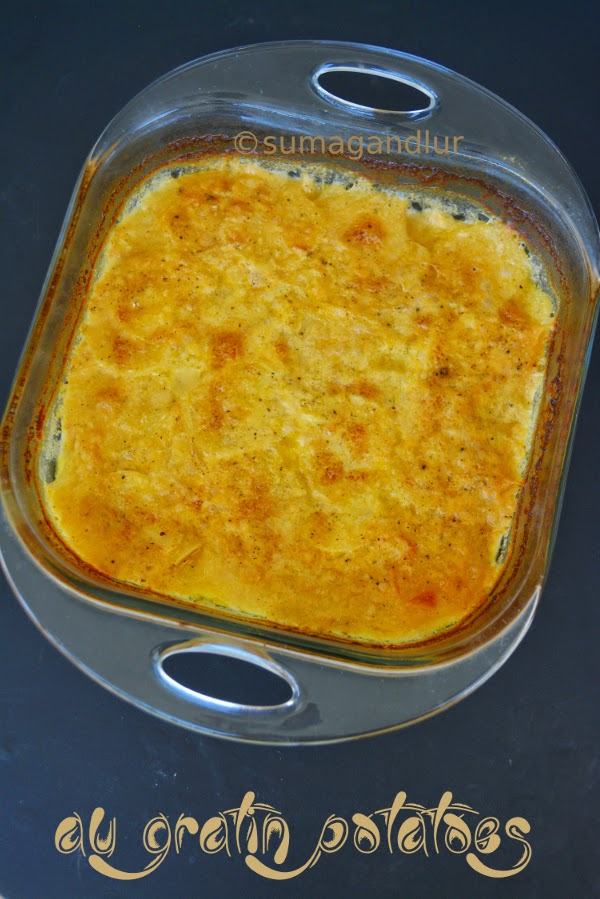 Monday Meals ~ Au Gratin Potatoes