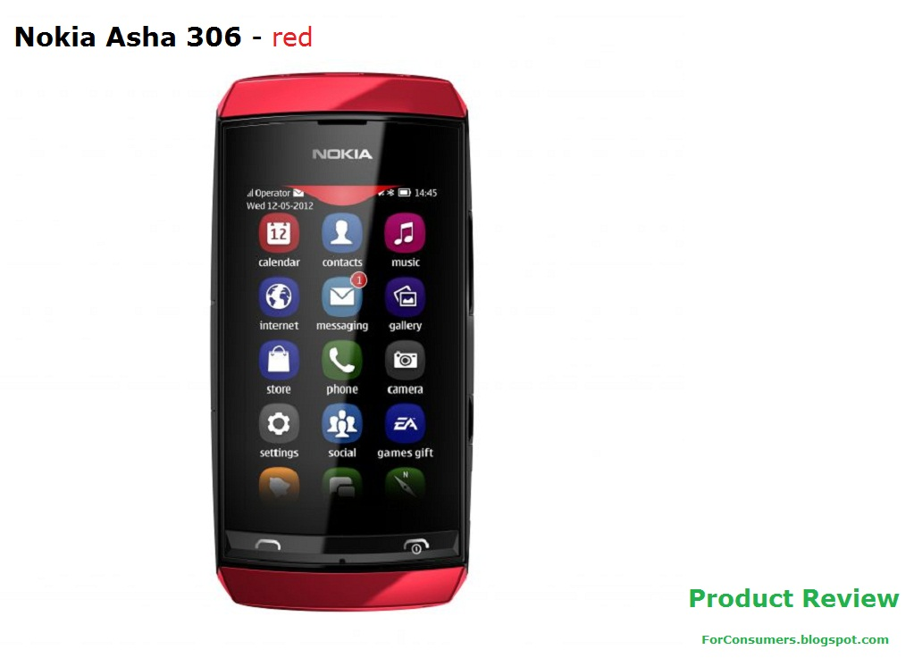 nokia asha 306 product review test and review. Black Bedroom Furniture Sets. Home Design Ideas
