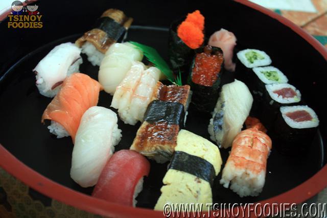 tokujo nigiri sushi moriawase